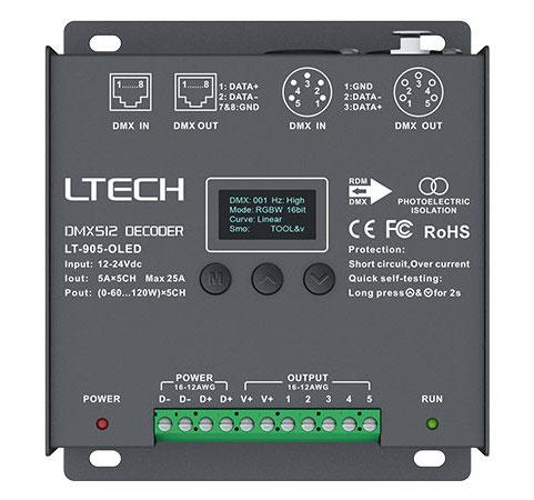 All Products 5ch Cv Dmx Decoder Lt 905 Oled